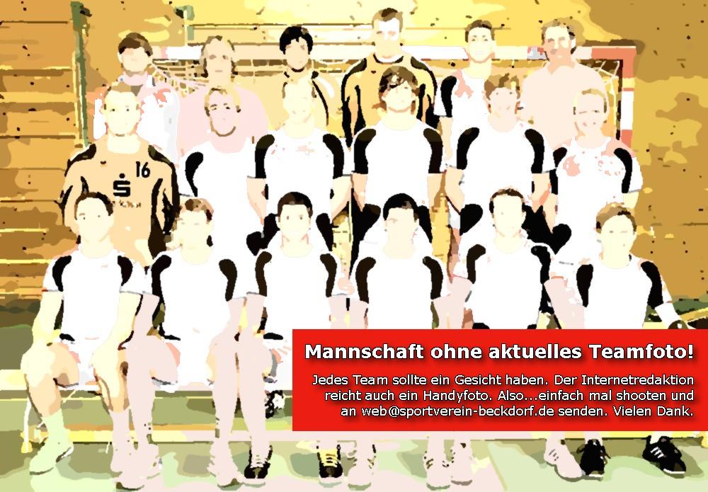 Handball Team ohne Mannschaftsfoto