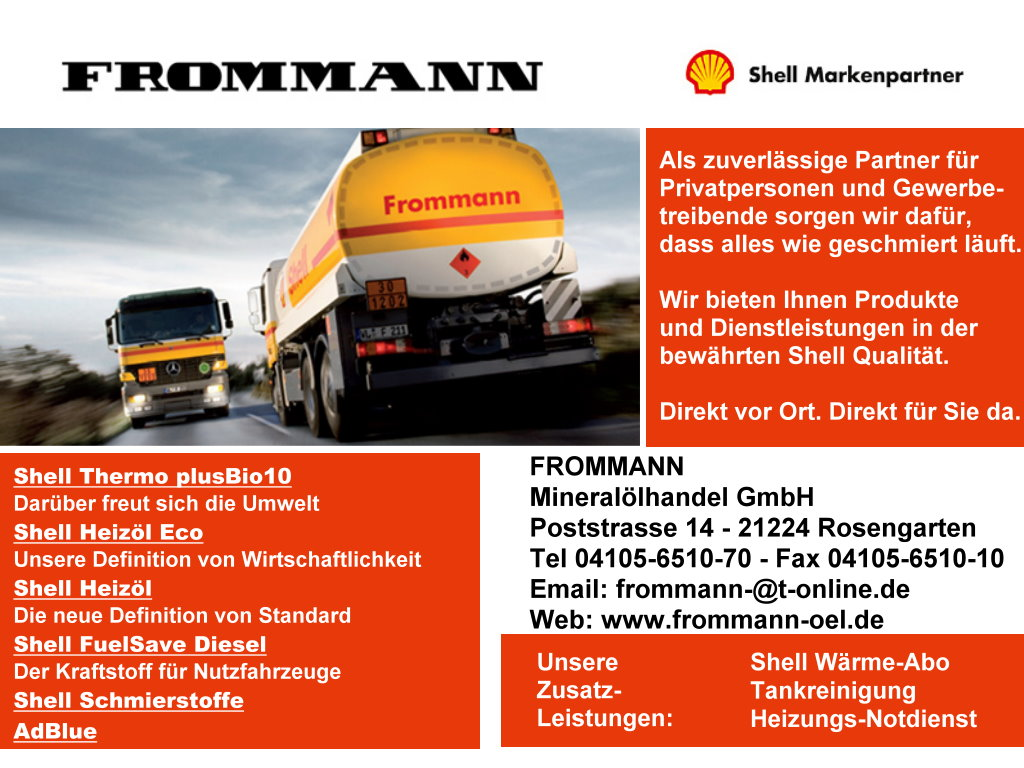 Frommann Mineraloelhandel