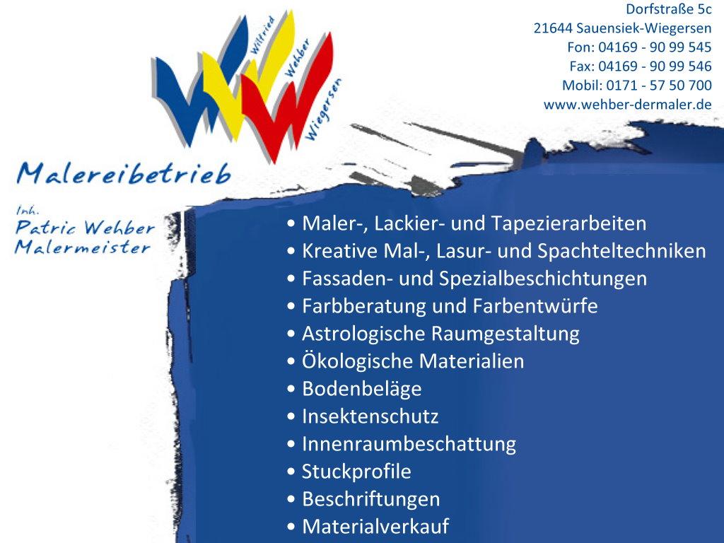 Malermeister Wehber
