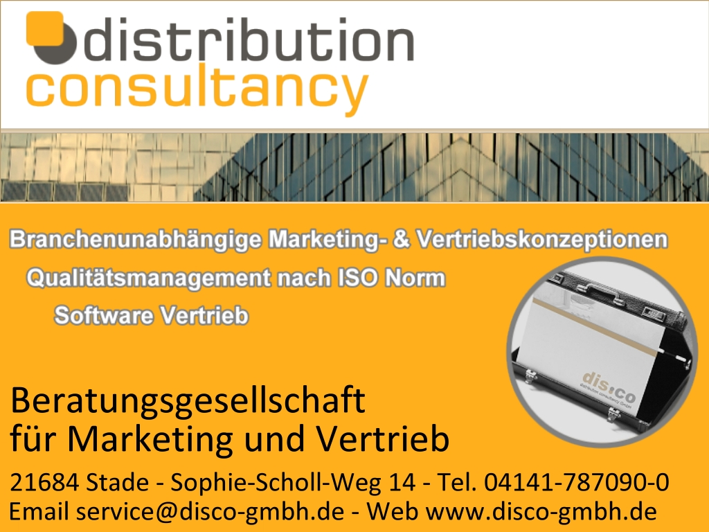 distribution consultancy